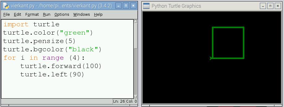 Python Lessen