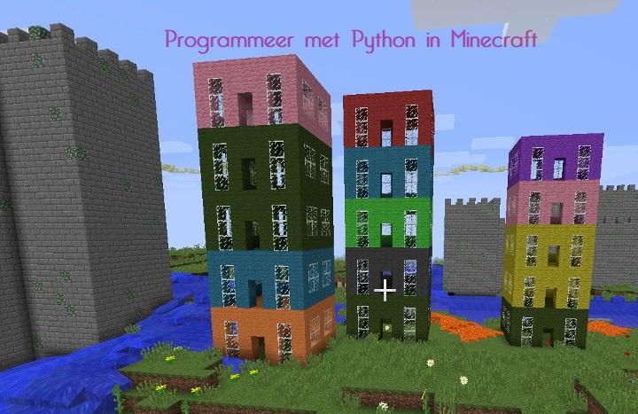Minecraft place blocks with python for Huis maken minecraft
